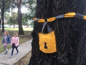 Lock up the trees - Gandolfo Gardens Rally at Moreland Station