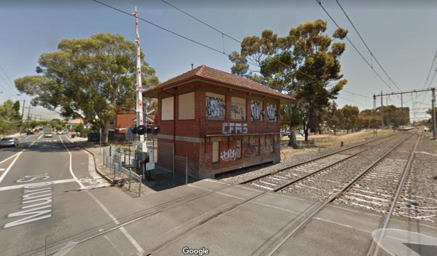 Munro Street Signal Box underthreat