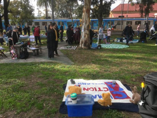Teddy bear Picnic to Save Gandolfo Gardens
