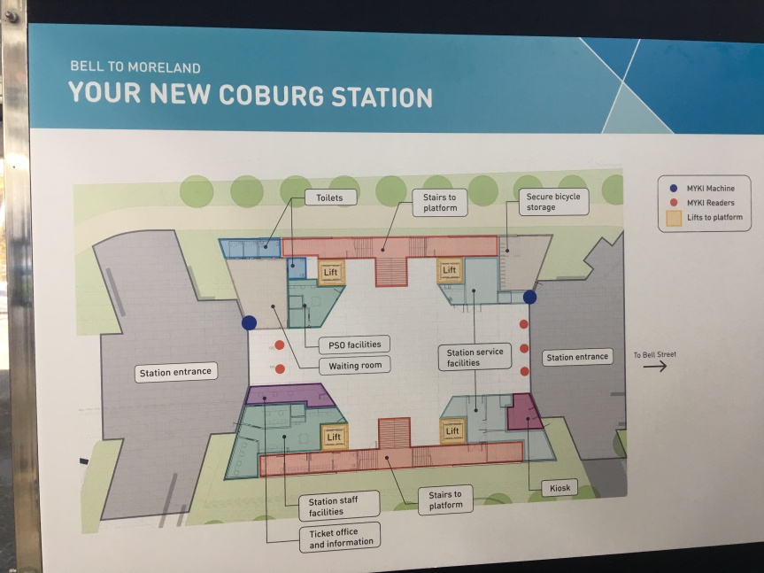 Escalators and toilets key amenity issues for new Coburg, Morelandstations