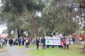 Save the Trees Gandolfo Gardens Community Rally October 20