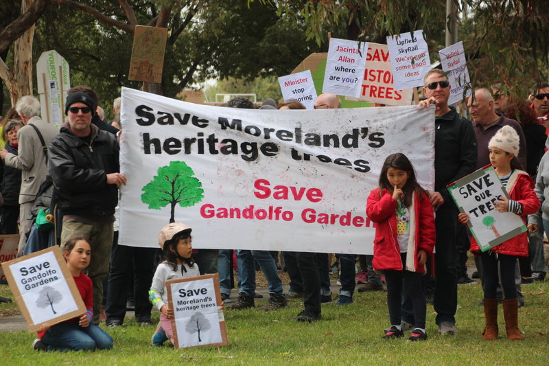 Media Release: Coburg community rallies to save 113 trees